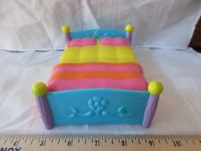 Dora doll house bed yellow pink orange blue sleep part accessory piece