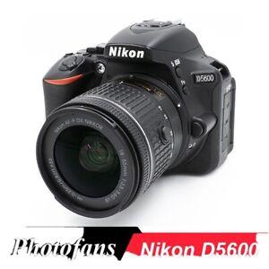 Nikon D5600 DSLR Camera with AF-P 18-55mm VR Lens