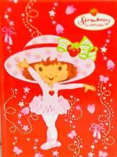Strawberry Shortcake Small Memo Book Autograph Book