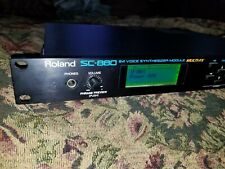 Roland SC-880 (64 voice, 32 part multitimbral) Synthesizer Module