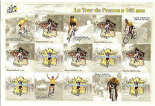 BLOC N° 59 TOUR DE FRANCE TIMBRES FRANCE NEUFS SANS CHARNIERES