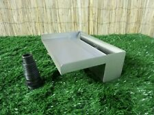 300mm Stainless Steel Waterfall WATER BLADE Cascade 130mm Spout BOTTOM INLET