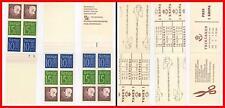 SWEDEN 1960's KING GUSTAF VI ADOLF x3 booklets SC#580a, ETC  MNH