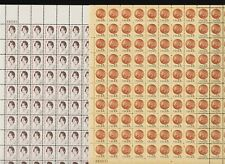U.S. Small Format Definitive sheets - FACE value $ 42.00