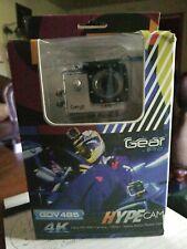 Gear Pro Sports Action 4K Hype Cam Ultra HD Wi-Fi Action Camera, Silver GDV485SL