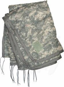 USGI Military Wet Weather Poncho Liner / Woobie Blanket ACU Digital