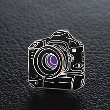 Canon EOS 1-V 35mm SLR Camera Enamel Pin