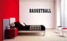 BASKETBALL DECAL WALL VINYL DECOR STICKER ROOM SPORTS BASKETBALL Decal Kids Room