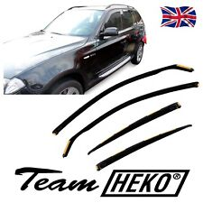 SUN SHADE + Wind Deflectors BMW X3 E83 5-door 2005-2010 4 pcs HEKO Tinted