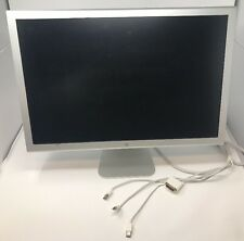 "Apple A1082 23"" Cinema Display Monitor DVI w/2-Port 1920x1200  Grade B"