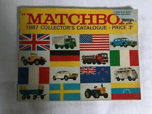 MATCHBOX TOYS Catalogue 1967 - 40 pages, inc. price list.