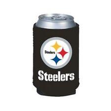 Pittsburgh Steelers Can Koozie - Black