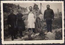 YZ2461 Italia 1942 - In posa tra la coltivazione - Fotografia d'epoca