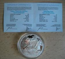 Silbermünze, 20 Rubel, Schiffsmotiv, Auflage 7000 St. !