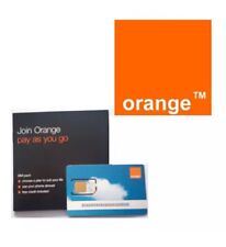 2g Orange Pay As You Go Sim Old Type Brand New Sealed