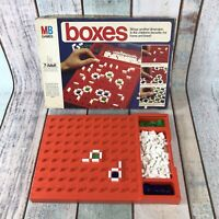 Vintage BOXES Board Game RARE family home travel MB 1976