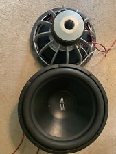 """A PAIR OF RE SX 18"""" Subwoofer. Dual 4 Ohm Subwoofer"""