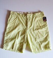 Bills Khakis Men's flat front shorts size 38 lime green NWT