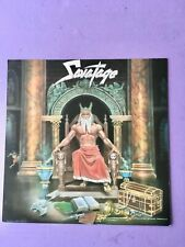 1987 Hall Of The Mountain King  Savatage Record 2 Side Promo Flat 12 x 12 Poster