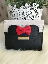 Kate Spade X Disney for Minnie Mouse Leather Card Case Holder