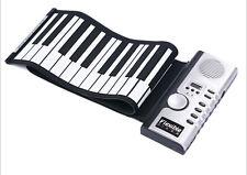 61Keys USB Silicon Flexible Roll Up Electronic Piano MIDI Keyboard Musical Organ