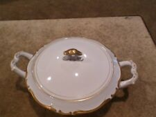Harmony House Fine China Golden Starlight Japan 3668 Lidded Vegetable Bowl