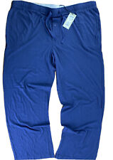 "Goodfellow & Co. Men's 2XL Pajama Pants Navy Blue Cozy Loungers 44"" Waist NWT"