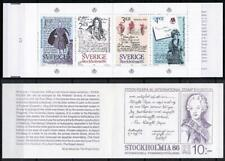 SWEDEN 1984 STOCKHOLMIA/LETTERS booklet SC#1505a MNH PAINTINGS, COSTUMES