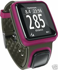 TomTom Runner GPS Watch Track Your Run Indoors/Outdoors Or Treadmill (Pink)