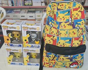 ZAINO PIKACHU con LOTTO FUNKO POP POKEMON