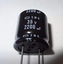 1 pc 2200uF 35V, 105 degC Electrolytic Capacitor