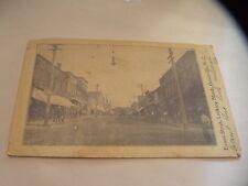 1906 RPPC POSTCARD GREENVILLE, NC NORTH CAROLINA Evans Street
