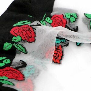 1pc Sexy Lace Fishnet Sock Transparent Fiber Mesh Sock Women's Ankle Net Yarn So