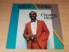 Rockie Campbell/Cheating Heart/Angella Records LP/Reggae