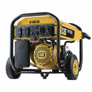 CATERPILLAR CAT 9375 watts 13hp Gas Generator hurricane home back up  lithium EZ