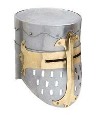 NEW Knights Templar Crusader Helmet Medieval Armor Replica 18G Steel