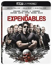 Blu Ray Ultra HD 4K THE EXPENDABLES. Sylvester Stallone. Region free. New.