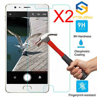 2x 9H+ Premium Tempered Glass Screen Protector For Oneplus Three 3 / 3T