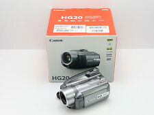 CANON HG20 CAMCORDER BOXED HD HIGH DEFINITION 60GB HARD DRIVE HDD DIGITAL VIDEO