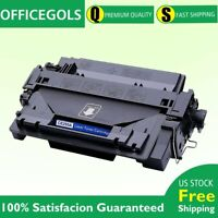 1 PK 55A CE255A Toner Cartridge Compatible For HP LaserJet P3010 P3015 P3015dn