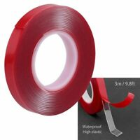 Glue Elastic Car Sticker Adhesive Tape Transparent Double-sided Adhesive