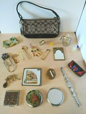 Womens Accessories COACH Compacts CHOKIN Jewelry Perfume Bottles Junk Drawer Lot