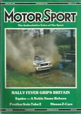 January Motor Sport Magazines in English