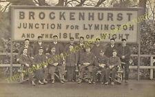 Brockenhurst Railway Station Photo. Southampton to Holmsley and Lymington. (20)