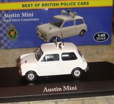 ATLAS EDITIONS - AUSTIN MINI CAR - ROYAL ULSTER CONSTABULARY  - 1:43 - BOXED