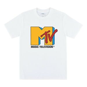 MTV T-shirt - Mens Tshirt Womens T Shirt Top Vintage 90s Rap Rock Concert Tees