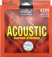Alice A208-L Acoustic Guitar Strings Stainless Steel Phosphor Bronze Color