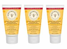 Burt's Bees Baby Diaper Rash Ointment 100% Natural 3 oz Pack of 3, Exp 12/22