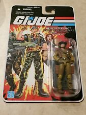 GI JOE COBRA 25th ANNIVERSARY WILD BILL HELICOPTER PILOT HASBRO MOC