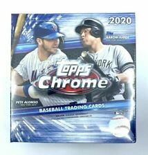 Topps 2020 Chrome Baseball Card Mega Box